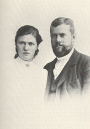 Max and marienne weber 1894