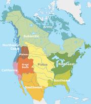 Nordamerikanische Kulturareale en
