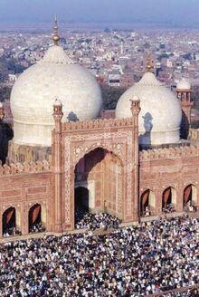 Eid Prayers at the Badshahi Mosque