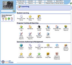 Edumate screenshot