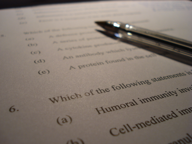 Multiple choice testing method psychology wiki fandom powered multiple choice items are a form of assessment item for which respondents are asked to select one or more of the choices from a list fandeluxe Images