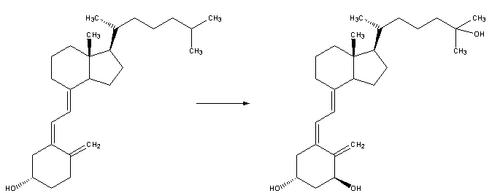 Reaction-VitaminiD3-Calcitriol
