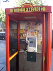 Phone box prostitute calling cards 1