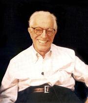 Albert Ellis 2003 seated