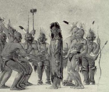 Catlin - Dance to the berdache