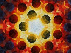 Roger-Penrose-Kachelstruktur