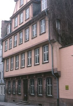 Goethe birthplace