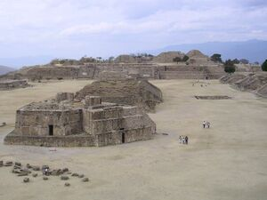 Monte Albán archeological site, Oaxaca
