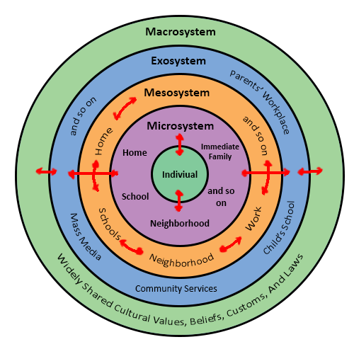 bronfenbrenners ecological model examples