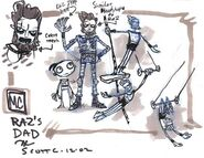 Raz's Dad Concept