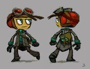 Razputin Psychonauts 2 Outfit Concept