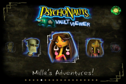 Psychonauts Vault Viewer