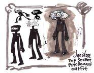 Agent Cruller concept art