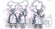 Chef Cruller concept art