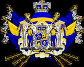 Brasão de Armas do Reino da Meridionália