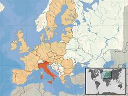 Mapa italia