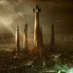 Raxus Prime Jedi Temple