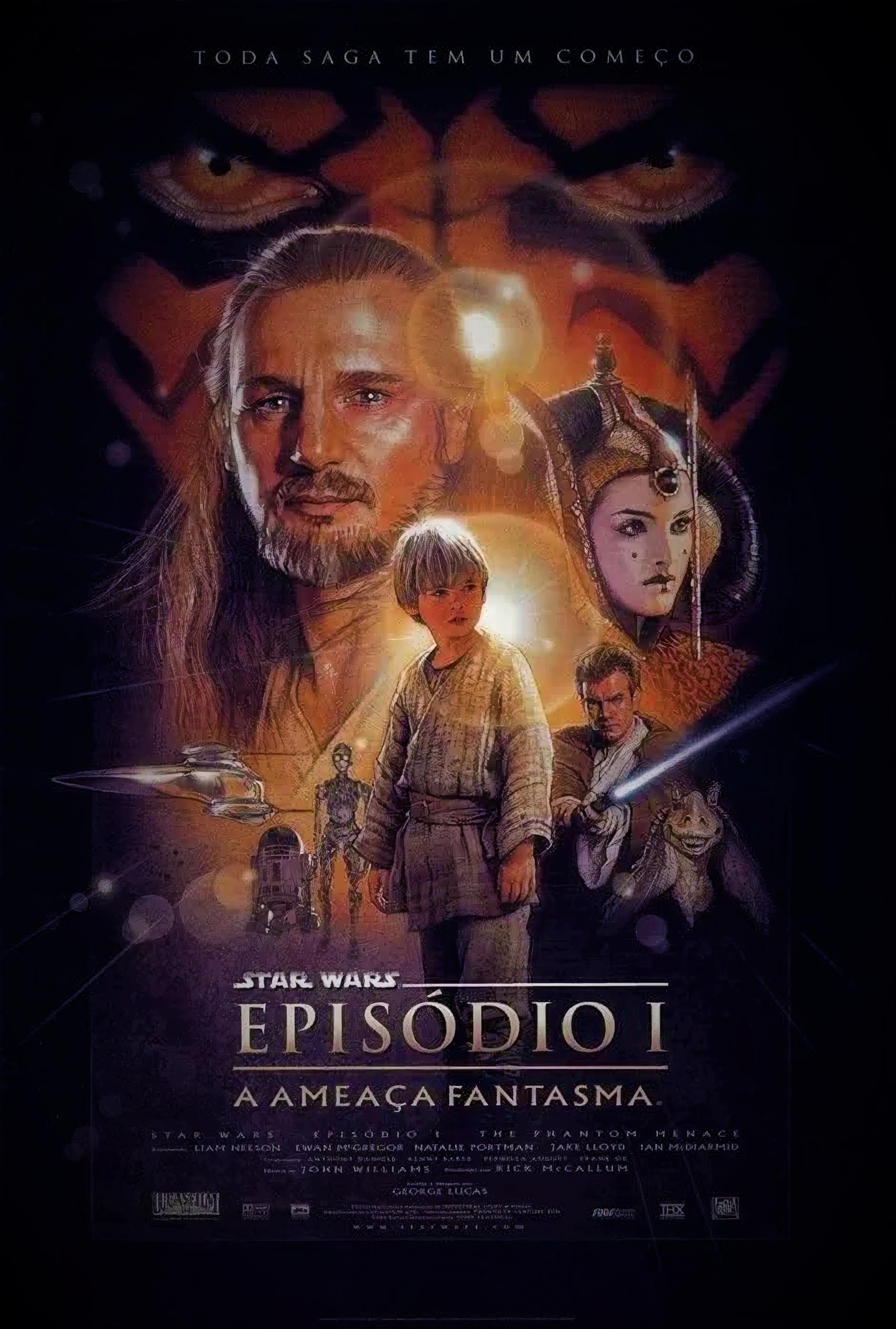 Resultado de imagem para Stars Wars - Episódio I a ameaça fantasma