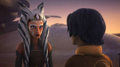 Ahsoka finds Ezra