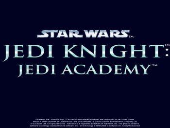 SW JediKnight JediAcademy