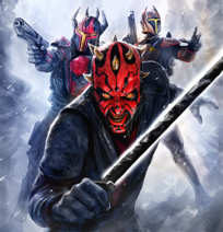 Darth Maul DarkSaber