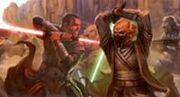 Gnost-Duar duela com um Sith