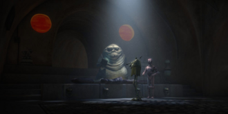 Jabba recupera os registros