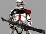 Comandante clone trooper