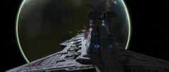 Unidentified Abafar Jedi cruiser