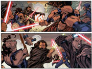 Obi-Wan-e-Qui-Gon-atacam-os-soldados-de-Sundown