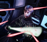 Lightsaber Deflection