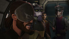 Lothal rebels and Hondo planning mission