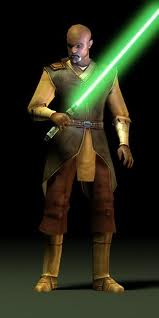 Jolee bindo green lightsaber