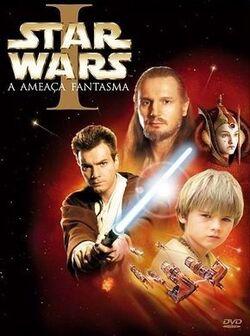 A Ameaça Fantasma dvd