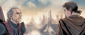 Palpatine e Anakin