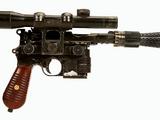 Pistola blaster pesada do Han