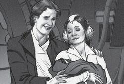 Han Leia and Ben
