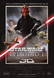 Star wars episódio 1 3D