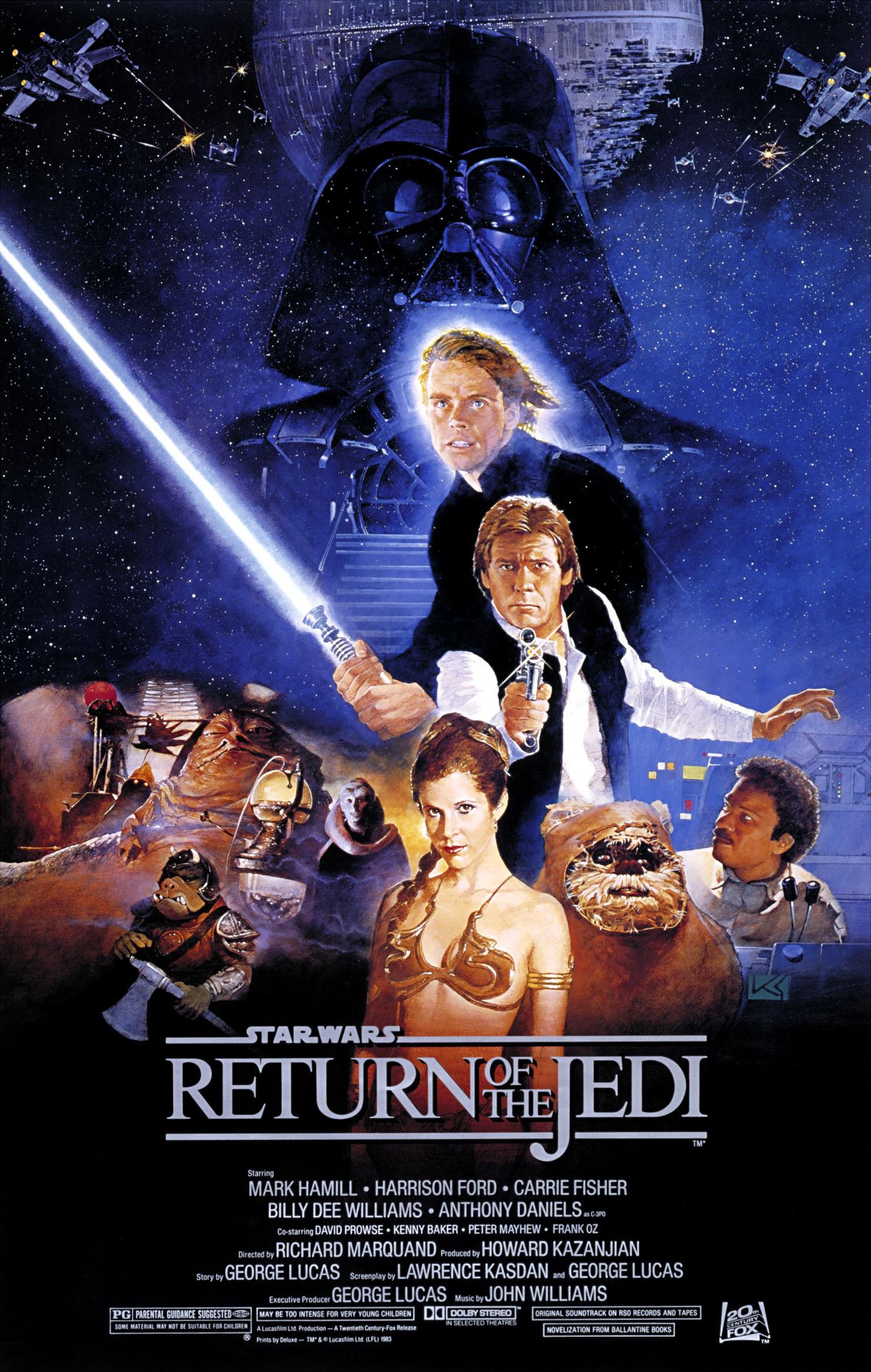 cbf10477d Star Wars Episódio VI  O Retorno de Jedi