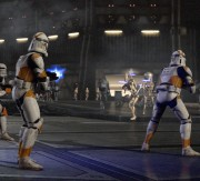 Cody's clone troopers in battle