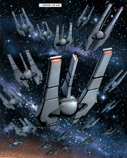 Infinite Empire fleet