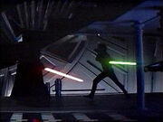 Luke vs darth vader