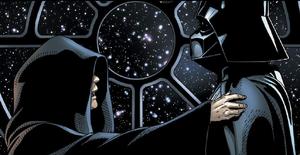 Sidious e Vader no Executor