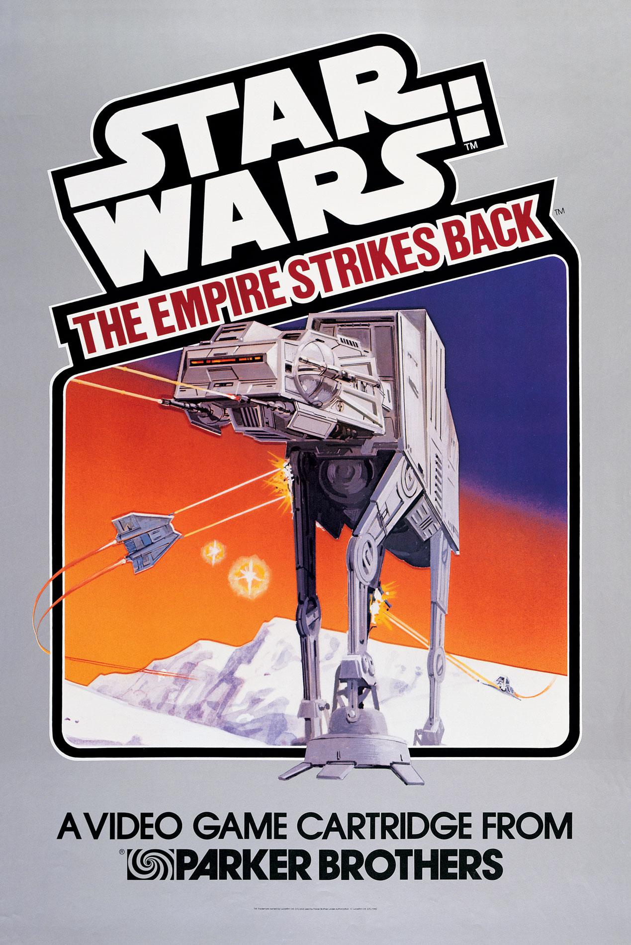 Resultado de imagem para Star Wars: O Império Contra - Ataca atari