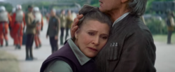 Han and Leia TFA