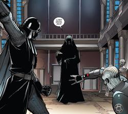 Sidious apresenta Vader e Grande Inquisidor