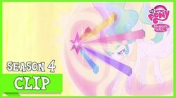 Princess Celestia Banishes Nightmare Moon (Princess Twilight Sparkle) MLP FiM HD