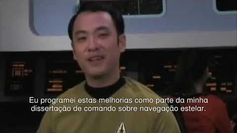 Star Trek Phase İİ - Vignette 1 - Assento de comando (Center Seat) - em português