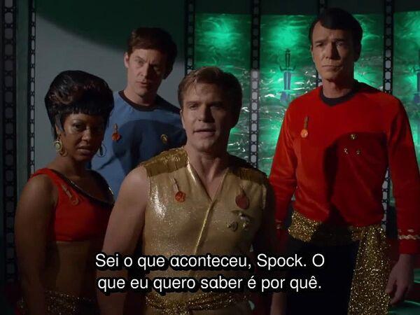 Star Trek Continues - Episódio 3 - Mais justo de todos (Fairest Of Them All) - em português