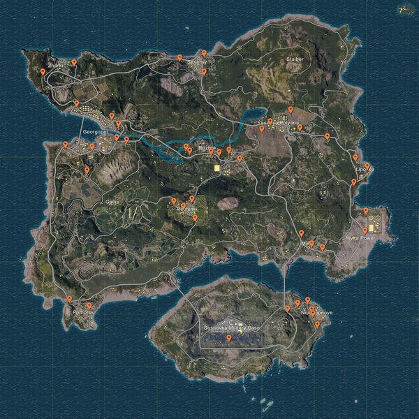 Playerunknowns-battlegrounds-transport-spawn-map